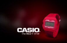 The Red F-91w